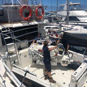 MAN Marine Engine Install